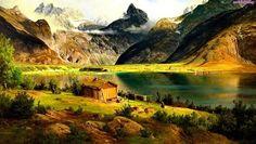 Chatka, Jezioro, Góry