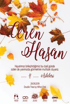 Autumn theme invitation design graphic design Invitation Design, Invitations, Autumn Theme, Graphic Design, Visual Communication, Invitation