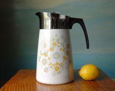 Corning Ware 9 Cup Coffee Percolator.  Corningware by domestikate, $20.00