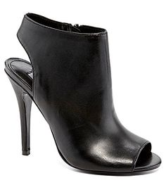 Must add to my collection-Steve Madden Rocknrol PeepToe Booties #Dillards