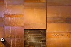 de castelli - composed wall cor-ten
