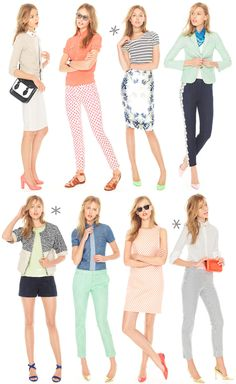 Über Chic for Cheap: Inspired: J.Crew Outfits {+ 30% Off}