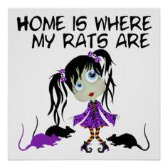 Trixies Rats Posters