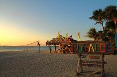 Beach bar, Aruba