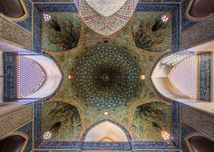 The Stunning Geometry Of Iranian Mosques