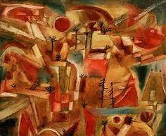 Paul Klee - Felslandschaft (mit Palmen und Tannen),