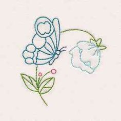 Embroidery Stitches Designs Buy Individual Embroidery Designs from the set Fantastic Garden Colorlines - Simple Embroidery Designs, Hand Embroidery Patterns, Floral Embroidery, Machine Embroidery Designs, Leather Embroidery, Embroidery Needles, Cross Stitch Embroidery, Bordado Floral, Learning To Embroider