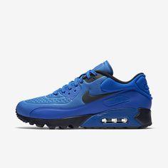 Cheap Nike Air Max 90 Ultra Se Hyper Cobalt Omega Blue Dark Obsidian Sale Nike Shoes Blue, Adidas Shoes Women, Nike Air Shoes, Men's Shoes, Fly Shoes, Hype Shoes, Nike Women, Nike Air Max 90s, Cheap Nike Air Max