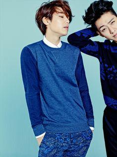 Min Hyuk and Jung Shin - The Class Spring 2015