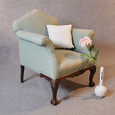 Antique Armchair Drawing Room Upholstered by SuchGorgeousThings, £795.00