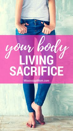 """What does it mean to """"present your body as a living sacrifice""""? How do we live that """"spiritual act of worship"""" day to day? Spiritual Encouragement, Christian Encouragement, Christian Women, Christian Living, Spiritual Disciplines, Spiritual Practices, Bible Verses For Women, Christian Parenting, Godly Woman"""