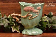 Roseville Pottery 1949 Jade Green Ming Tree Planter #572-6 - The Kings Fortune