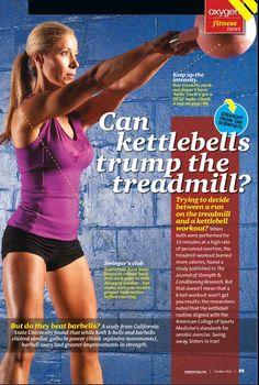 Kettlebells - Oxygen Magazine - October 2012