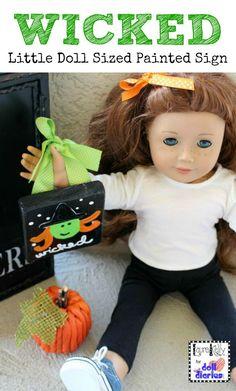 Cute craft for dolls!