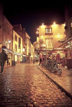 - Dublin, Ireland: Temple Bar Area - Been there most fun in pub crawls ever-really people friendly