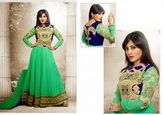 Designer anarkali salwar suit available at addsharesale, an online portals where wholesale suppliers meets sellers to expertly manage clothing products. www.addsharesale.com