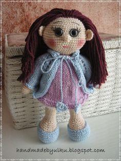 Amigurumi Doll Laila / Häkelpuppe