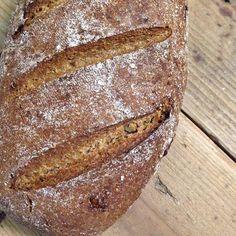 German Sourdough Rye Bread (Roggenmischbrot)
