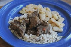 Goat Curry with Lima beans (don't be scared, it's yummy!) Travel by Stove: Recipes from Europa Island