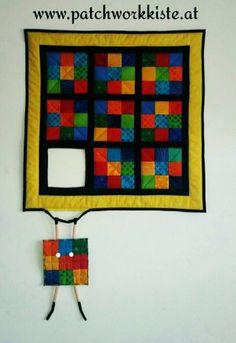 Patchwork- und Quiltforum - - lustiger Wandquilt - hanging block
