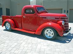 1938 International Chop-Top pick-up!  Hollywood, here I come!
