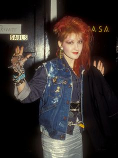 Cyndi Lauper's Style Evolution: From 'True Colors' To All-Black Ensembles (PHOTOS) | HuffPost