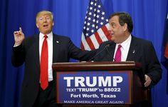 Donald Trump and Chris Christie Start a Bully Bromance
