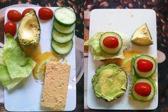 Bluebacardis Frühstück erinnert ein wenig an Besuche im Museum für moderne Kunst - Zufall?