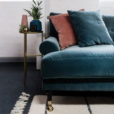 Blanca sofa is crafted using luxurious Italian velvet, made from 100% cotton. Scandinavian design. MeliMeli Velvet Furniture, Free Fabric Samples, Best Carpet, Comfortable Sofa, Velvet Sofa, Bedroom Carpet, Best Sofa, Seat Pads, Wooden Flooring