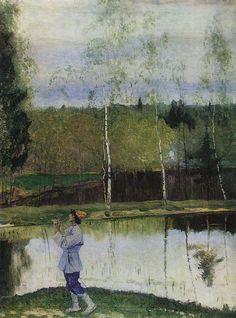 Михаил Васильевич Нестеров » Картины, живопись » Лель. Весна. 1933