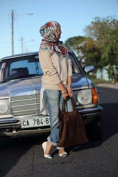 Fall hijabi look🍁 Islamic Fashion, Muslim Fashion, Modest Fashion, Hijab Fashion, Fashion Outfits, Stylish Hijab, Hijab Casual, Hijab Outfit, Casual Wear