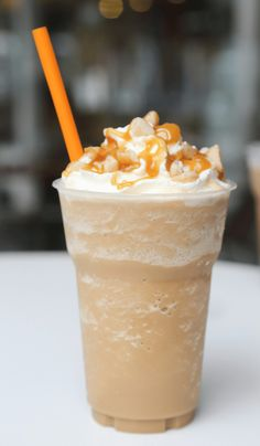 Starbucks Caramel Frappuccino Recipe - Insanely Good Starbucks Frappuccino Caramel, Caramel Iced Coffee Recipe, Homemade Frappuccino, Starbucks Recipes, Coffee Recipes, Ice Milk, Copykat Recipes, Cooking Time, Food Dishes