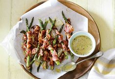 asperges bacon