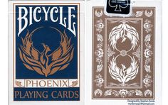 Bicycle Phoenix Playing Cards.