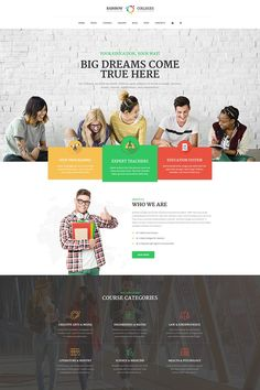 This is a Bootstrap Career Education College WordPress Template. Bootstrap is actually a completely free front-end framework that gives for faster and easy web design expertise. Bootstrap helps to build better websites . Teacher Education, Education System, Education College, College School, Education Degree, Business Education, School Tips, Business School, Online Business
