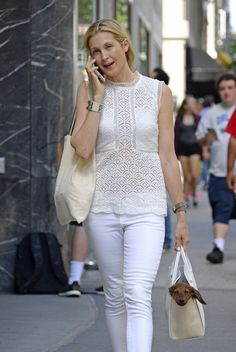 Kelly Rutherford Style, Hermes Jewelry, Jewellery, Hermes Watch, Love Her Style, Classy And Fabulous, Pants Outfit, Gossip Girl, Everyday Outfits
