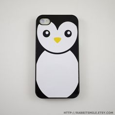 Penguin iPhone 4 Case iPhone 4s Case iPhone 4 Cover by rabbitsmile, $16.00 - I think I need this.