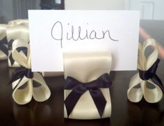 Wedding Place Card Holders  One Hundred 100 by ReservedSeating, $140.00