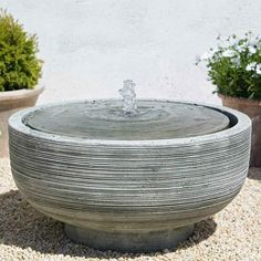 Concrete Fountains, Garden Water Fountains, Stone Fountains, Outdoor Fountains, Water Gardens, Fountain Garden, Rock Fountain, Tabletop Fountain, Zen Gardens