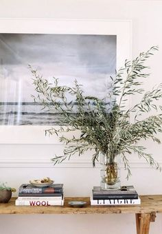 seascape photo and greenery. / sfgirlbybay