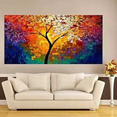 Excellent simple ideas for your inspiration Canvas Art Projects, Canvas Wall Art, Texture Painting On Canvas, Rainbow Art, Seascape Paintings, Mural Art, Watercolor Art, Artwork, Bing Images