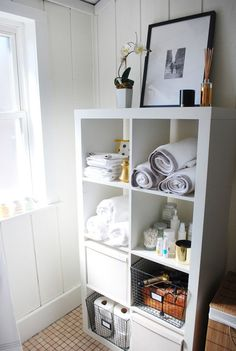 Ikea Expedit: Bathroom Before And After