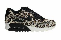 """Nike Wmns Air Max 90 LX """"Leopard"""" voor dames. De luipaard printen zijn gemaakt van echte pony haren, dus exclusief! Beperkt binnen bij ons."""