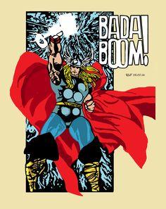 Walt Simonson Mighty Thor