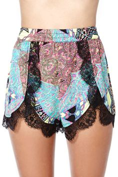 Yeah, I'll be ordering these in the morning…  NastyGal NASTY GAL IT'S A TRIP SHORTS