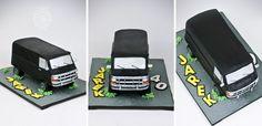 Dodge Van 1987 cake