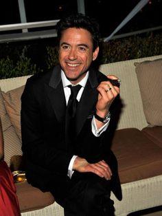 Robert Downey Jr. smile.
