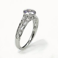 Lindblom Jewelers | Engagment Rings #reverie ring from @Parade Design