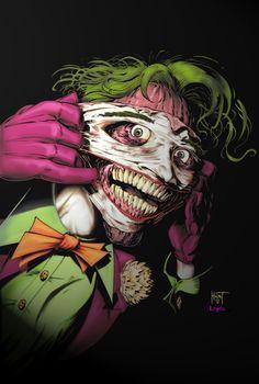 Joker-Happy Face colors by *KenHunt on deviantART
