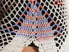 Crochet bathing suit cover up - pattern 2